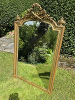 19th Century French Gilt Mirror in Louis XVI Style (4 of 5)