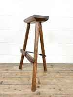 Pair of Rustic Wooden Cutler's Stools (7 of 10)