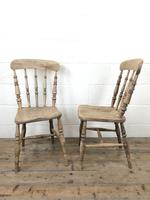 Set of Four Antique Kitchen Chairs (7 of 11)