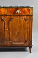 Antique Mahogany Cutlery Cabinet (4 of 16)