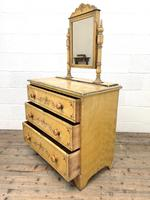Antique Painted Pine Dressing Chest (9 of 13)