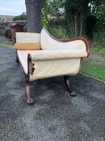 Regency Mahogany Sofa For Recovering (6 of 10)