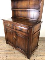 Early 20th Century Oak Dresser (3 of 15)