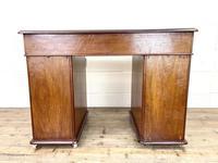 Small Antique Mahogany KneeHole Desk (9 of 9)