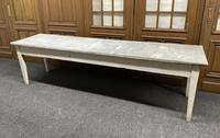 Large 19th Century French Zinc Top Table (2 of 13)