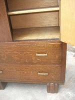 Two Drawer Oak Tallboy (2 of 3)