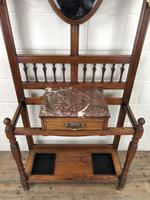 Antique Mahogany Hall Stand (6 of 10)