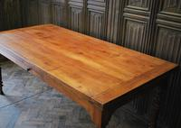 Large Extending Cherrywood Farmhouse Table (9 of 12)
