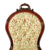 Victorian Rosewood Ladies Chair (3 of 8)