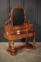 Victorian Figured Walnut Dressing Table (8 of 17)
