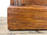 Antique Edwardian Satinwood Chest of Drawers (7 of 10)