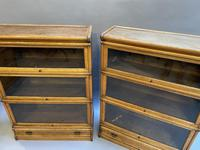 Pair of Globe Wernicke Oak Bookcases (11 of 16)