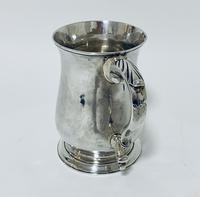 18th Century Georgian Solid Sterling Silver Tankard (6 of 16)