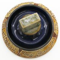 Commemorative / Whisky Advertiser - Rare Doulton Lambeth Stoneware Pottery c.1920 (6 of 7)