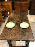 Oak Refectory Table from 1700's (6 of 6)