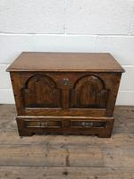 Antique 18th Century Style Welsh Oak Coffer Bach (2 of 14)