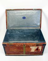 WW1 Era Marshall Campaign Chest / Trunk, Labels & Provenance (11 of 23)