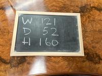 Stylish Burr Walnut Queen Anne Dressing Table (13 of 14)