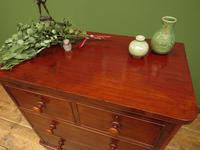 Handsome Small Antique Mahogany Chest of Drawers (17 of 20)