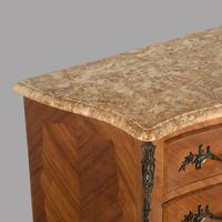 19th Century French Fruitwood Parquetry Inlay Commode (2 of 4)