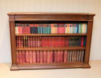 Substantial Oak Open Bookcase (2 of 9)