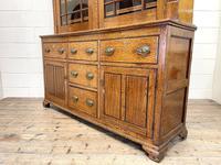 Antique 19th Century Glazed Oak Dresser (8 of 10)