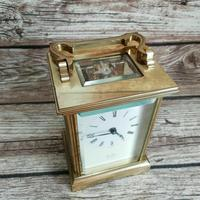 Rare St James London Solid Brass 11 Jewel Carriage Clock (4 of 5)