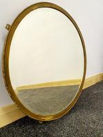 Edwardian Brasscrafter circular mirror (7 of 8)