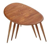 Ercol Nest of 3 Tables Great Design Shape c.1970 (3 of 6)
