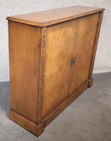Burr Walnut Side Cabinet / Bookcase Iain James Furniture (2 of 8)