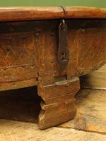 Antique Carved Indian Chakki Table Coffee Table with Lid (10 of 14)