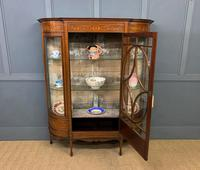 Maple & Co Inlaid Mahogany Display Cabinet (9 of 13)