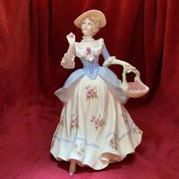 "Coalport Limited Edition figurine titled ""Strawberries Scarlet Strawberries"" from the Cries of London Collection 225 of 9500 (2 of 10)"