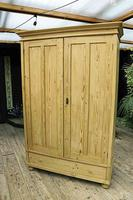 Fabulous & Large Old Pine 'Knock Down'  Double Wardrobe (5 of 15)