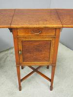 Pair of Thuya Wood Bedside Cabinets (8 of 13)