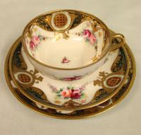 Noritake Porcelain Trio Cup Saucer & Plate. (6 of 9)
