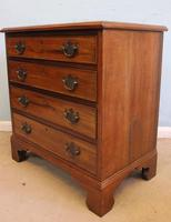Antique Small Walnut Chest of Drawers (4 of 8)