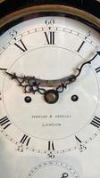 George III Ebonised Bracket Clock (8 of 15)