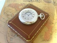 Vintage Pocket Watch 1970s Bravingtons Swiss 17 Jewel Half Hunter & Box Fwo (3 of 12)