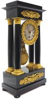 French Regulator Table Portico Mantel Clock Sought After Classic 8 day Clock (10 of 11)