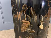 19th Century Chinoiserie Corner Cupboard (4 of 6)