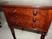 Regency Mahogany Work Pembroke Table (4 of 8)