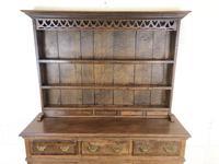 Antique Oak Pot Board Welsh Dresser