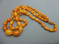 Double Strand Amber Bead Necklace (4 of 5)