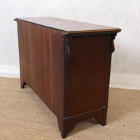 Dresser Base Arts & Crafts Walnut Sideboard 19th Century (11 of 11)