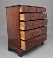 Tall 18th Mahogany Chest of Drawers (3 of 10)