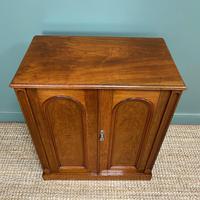 Beautifully Figured Victorian Walnut Antique Cupboard (5 of 7)