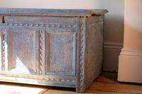 18th Century Painted Pine Coffer (18 of 28)