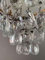 A Single Light French Waterfall Chandelier (2 of 8)