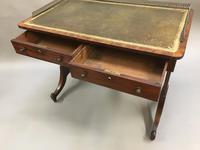 Regency Mahogany Writing Table (8 of 13)